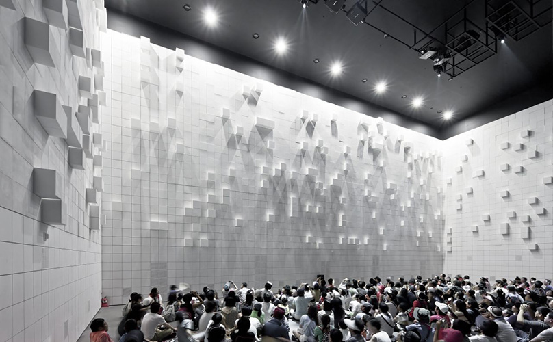 Hyper-Matrix @ Yeosu Expo 2012, © photo by Sergio Pirrone