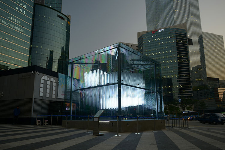 Brilliant Cube @ Gangnam Station