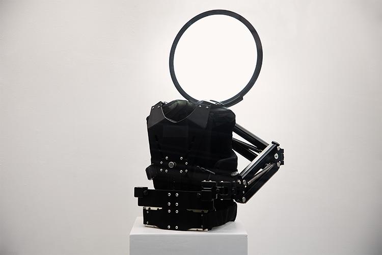 Installation View: Halo Augmenting Machine @ Incheon Art Platform, photo by Hyosup Jung