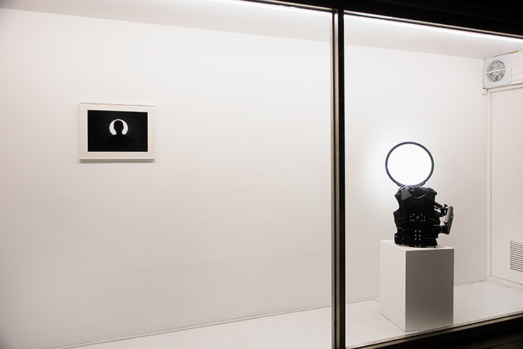 Installation View: Halo Augmenting Machine @ Incheon Art Platform, photo by Hyosup Jung